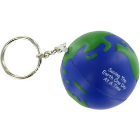 Earthball Key Chain Stress Ball for Your Company