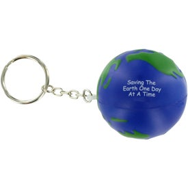 Company Earthball Key Chain Stress Ball