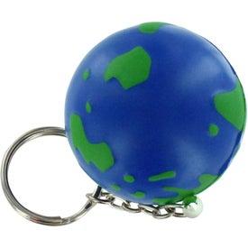 Earthball Key Chain Stress Ball Giveaways
