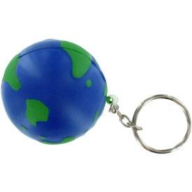 Earthball Key Chain Stress Ball
