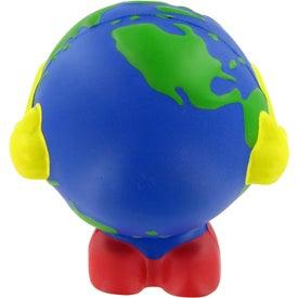 Custom Earthball Man Stress Toy