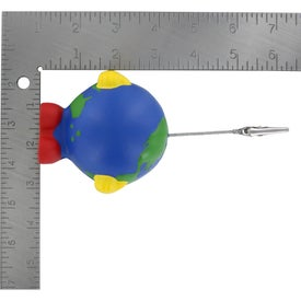 Company Earthball Man Stress Ball Memo Holder