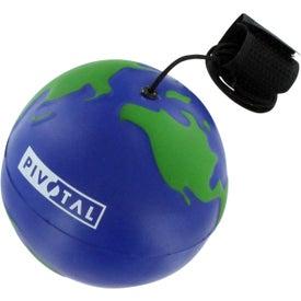 Imprinted Earthball Yo Yo Stress Ball