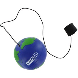 Promotional Earthball Yo Yo Stress Ball