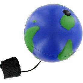 Monogrammed Earthball Yo Yo Stress Ball