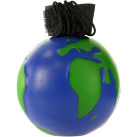 Branded Earthball Yo Yo Stress Ball
