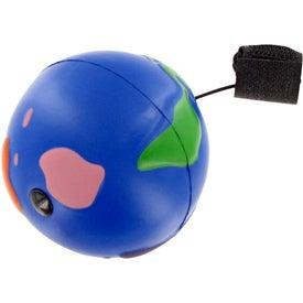 Advertising Multi-Color Earth Ball Yo-Yo Stress Toy
