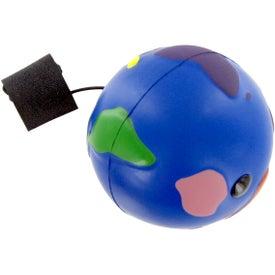 Multi-Color Earth Ball Yo-Yo Stress Toy for Advertising
