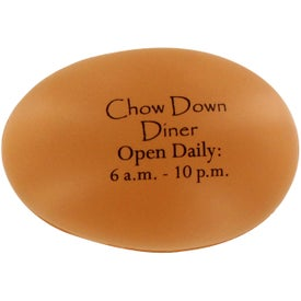 Imprinted Egg Stress Ball