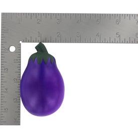 Logo Eggplant Stress Ball
