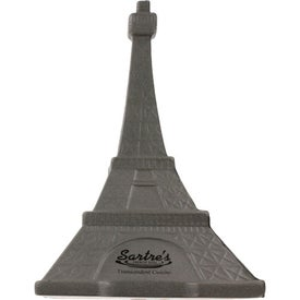 Eiffel Tower Stress Ball with Your Logo