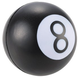 Branded Eight Ball Stress Reliever