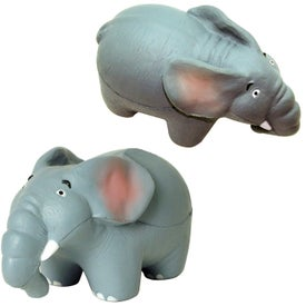 Elephant Stress Reliever Imprinted with Your Logo