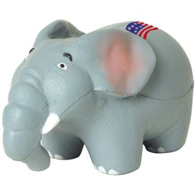 Monogrammed Elephant Stress Reliever