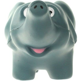 Personalized Elephant Stress Ball