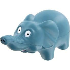 Promotional Elephant Stress Toy