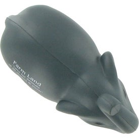 Elephant Stress Ball with Tusks for Your Company