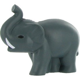 Custom Elephant Stress Ball with Tusks