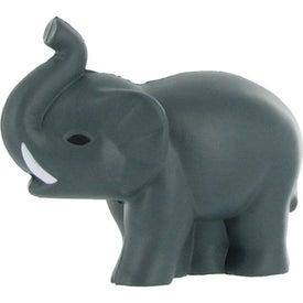 Custom Elephant Stress Ball with Tusks