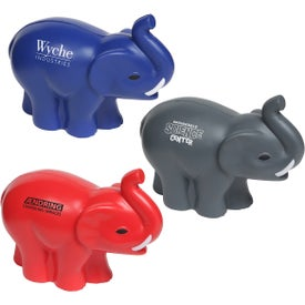 Elephant Stress Balls with Tusks