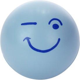 Printed Emoticon Stress Balls