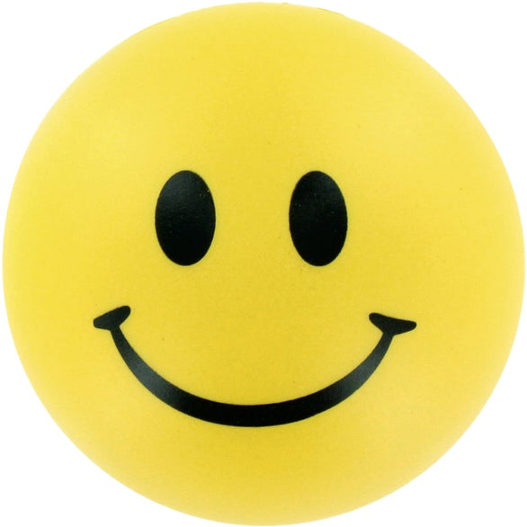 Yellow Emoticon Stress Balls