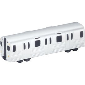 Metro Train Stress Ball Printed with Your Logo