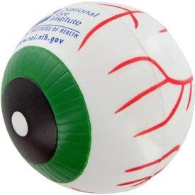 Custom Eye Ball Stress Toy