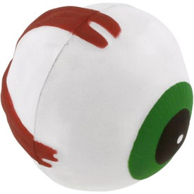 Eyeball Stress Reliever Branded with Your Logo