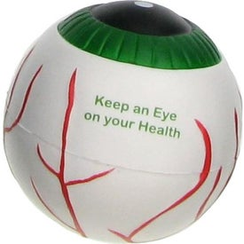 Eyeball Stress Ball for Customization