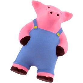 Company Farmer Pig Stress Reliever