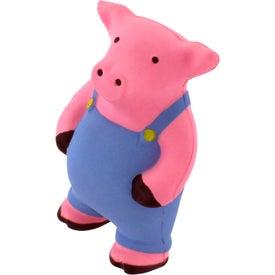 Advertising Farmer Pig Stress Reliever