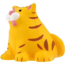 Branded Fat Cat Stress Reliever