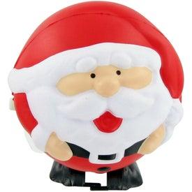 Personalized FIDO-DIDO Santa Ball Stress Toy