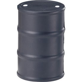 Personalized Oil Drum Stress Ball