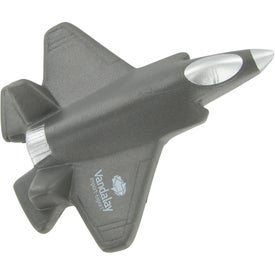 Imprinted Fighter Jet Stress Ball