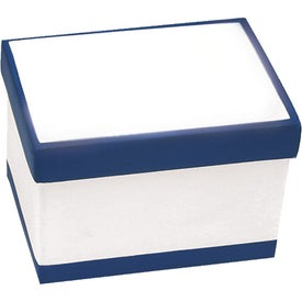 File Box Stress Ball Imprinted with Your Logo