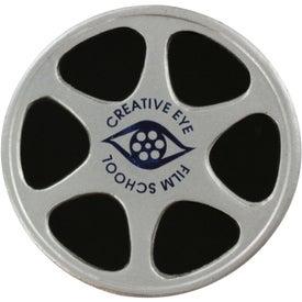 Film Reel Stress Ball for Advertising