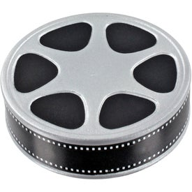 Monogrammed Film Reel Stress Ball