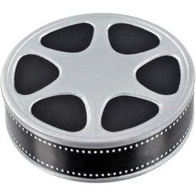 Monogrammed Film Reel Stress Ball