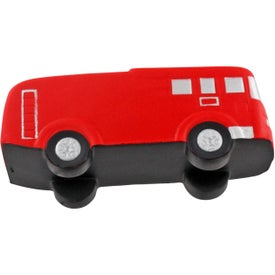 Printed Fire Truck Stress Ball