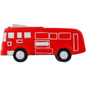 Fire Truck Stress Ball Printed with Your Logo