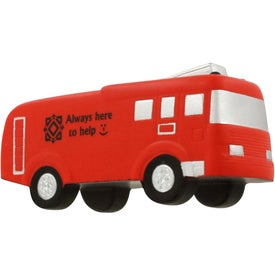 Personalized Fire Truck Stress Ball