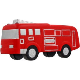 Fire Truck Stress Ball Imprinted with Your Logo