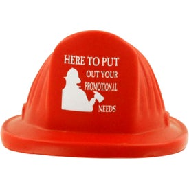 Fire Helmet Stress Ball for Promotion