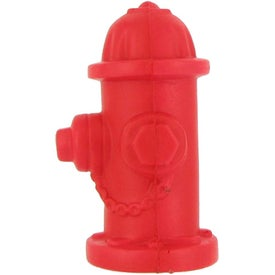 Printed Fire Hydrant Stress Ball