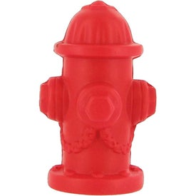 Imprinted Fire Hydrant Stress Ball