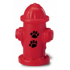 "Fire Hydrant Stress Ball (2.25"" x 3.5"" x 2.25"")"