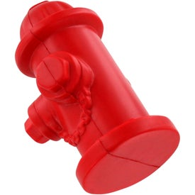 Personalized Fire Hydrant Stress Ball