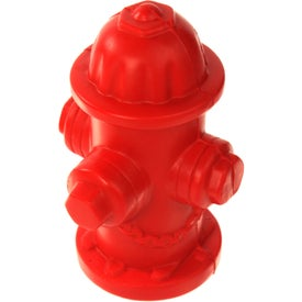 Advertising Fire Hydrant Stress Ball